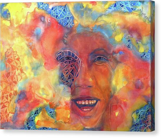 Smiling Muse No. 2 Canvas Print