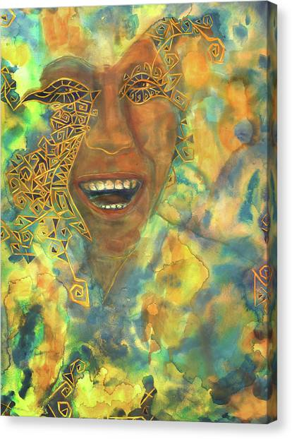 Smiling Muse No. 3 Canvas Print