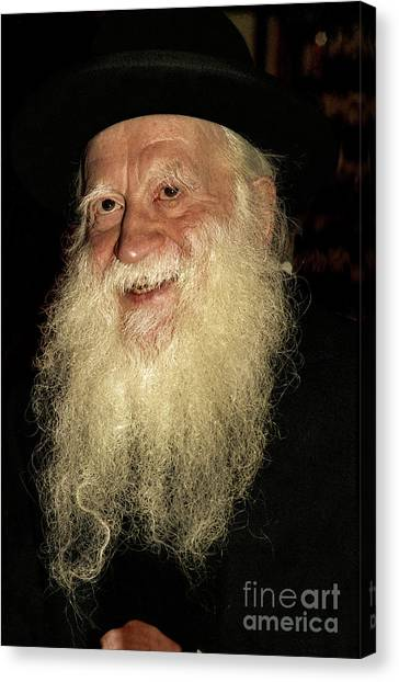 Rabbi Yehuda Zev Segal - Doc Braham - All Rights Reserved Canvas Print