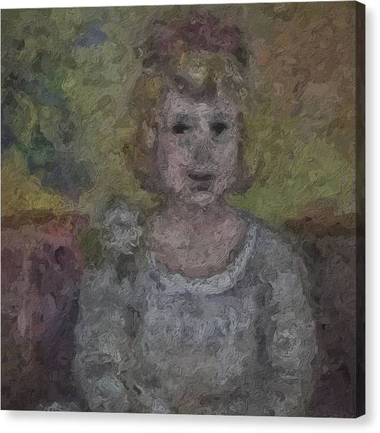 Canvas Print - Smiling Sally by Modern Art