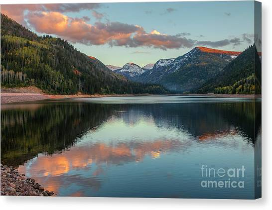 Smith And Morehouse Sunset Canvas Print