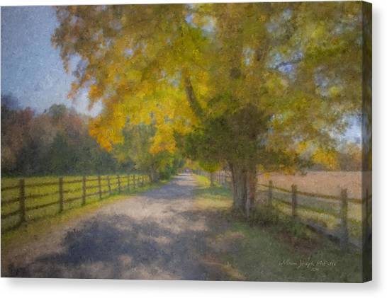 Smith Farm October Glory Canvas Print