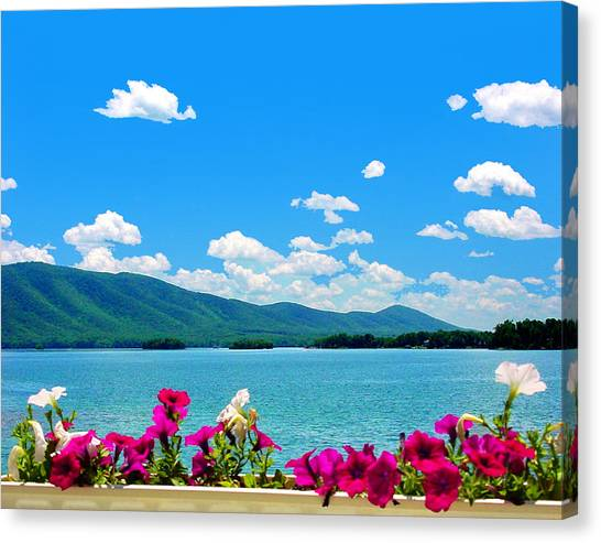 Smith Mountain Lake Grand View Canvas Print