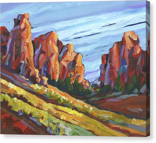 Smith Rock I Canvas Print