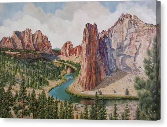 Smith Rocks Canvas Print