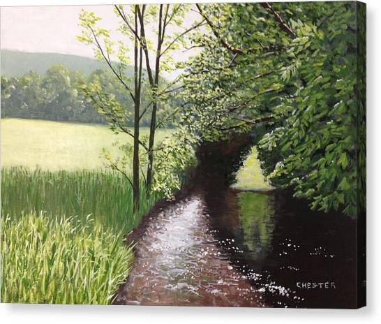 Smith Stream Canvas Print