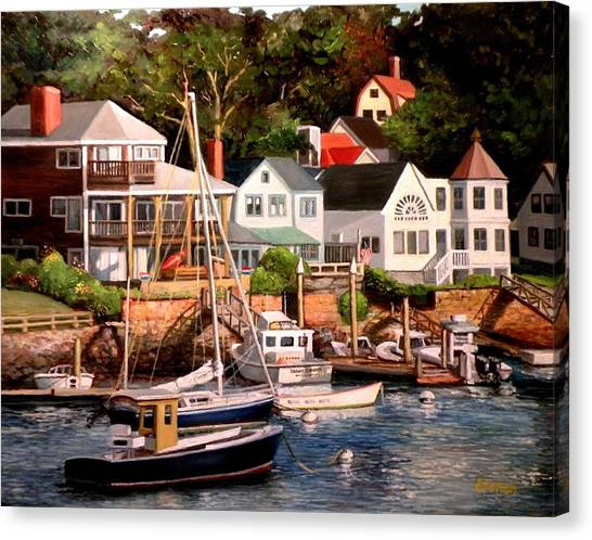 Smiths Cove Gloucester Canvas Print