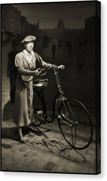 Smithsonian Institute Canvas Print - Smithsonian Institute Bicycle by Kyle Hanson