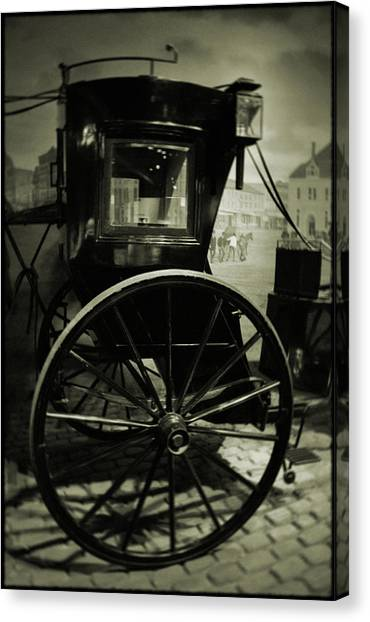 Smithsonian Institute Canvas Print - Smithsonian Institute Carriage by Kyle Hanson