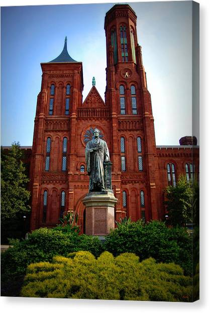 Smithsonian Institute Canvas Print - Smithsonian Institute - Washington D. C. by Glenn McCarthy Art and Photography