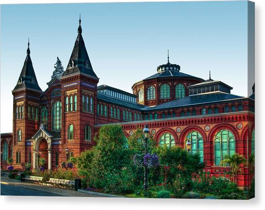 Smithsonian's Arts And Industries Building Canvas Print