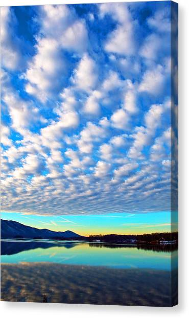 Sml Sunrise Canvas Print