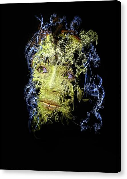 Smoke And Mirror Canvas Print