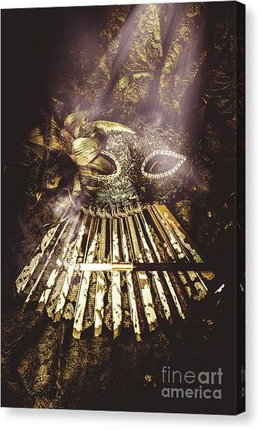 Masquerade Canvas Print - Smoke And Theatres by Jorgo Photography - Wall Art Gallery