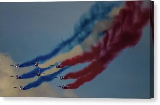 Acrobatic Canvas Print - Smoke On by Martin Newman