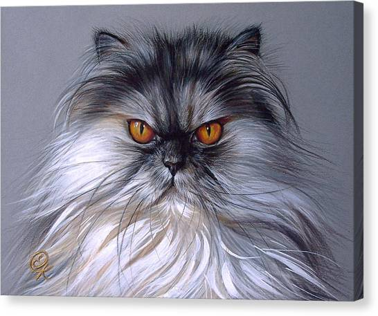 Smoke Persian Canvas Print