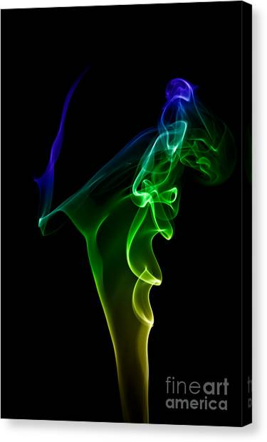 smoke XIV Canvas Print