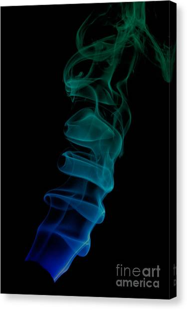 smoke XIX ex Canvas Print
