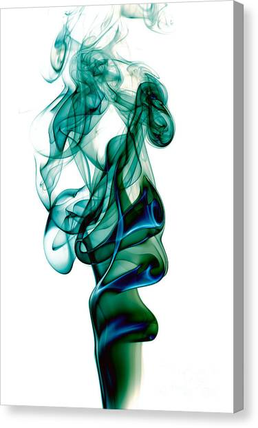 smoke XXIII Canvas Print