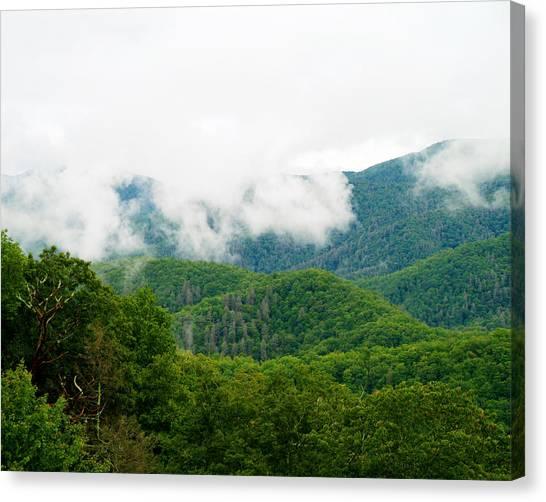 Smokey Mountain Afternoon Canvas Print