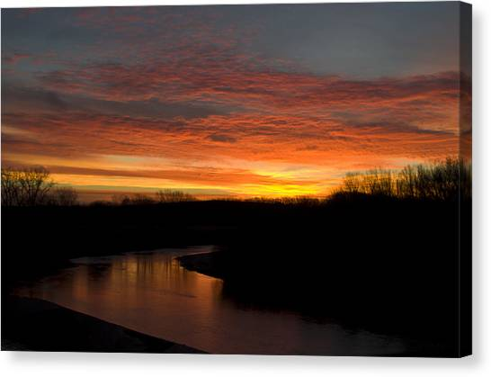 Smoky Hill Beauty Canvas Print