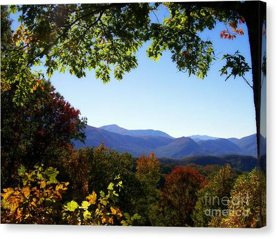 Gatlinburg Tennessee Canvas Print - Smoky Mountains by Lena Auxier