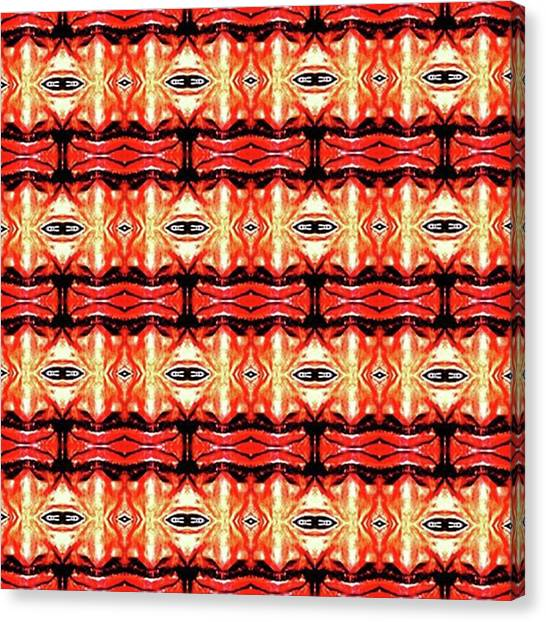 Satan Canvas Print - Eyes Of Satan by Dante Cook