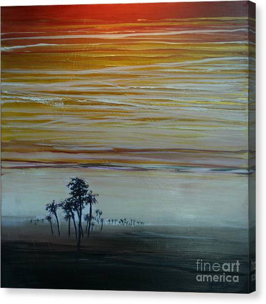 Smooth Jazz Canvas Print by Michele Hollister - for Nancy Asbell