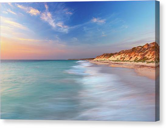 Smooth Waters, Quinns Rocks, Perth Canvas Print