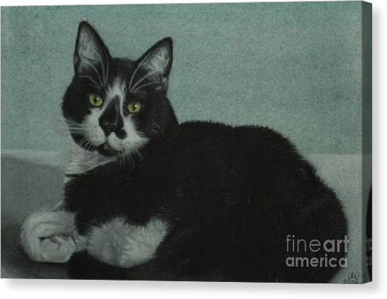 Smudge Canvas Print