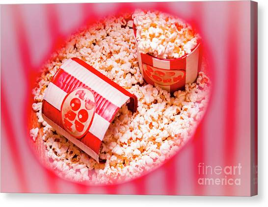 Popcorn Canvas Print - Snack Bar Pop Corn by Jorgo Photography - Wall Art Gallery
