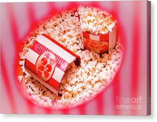 Tubs Canvas Print - Snack Bar Pop Corn by Jorgo Photography - Wall Art Gallery