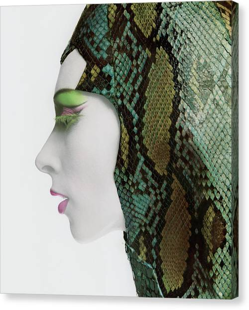 Snake Eyes Canvas Print by Bert Stern