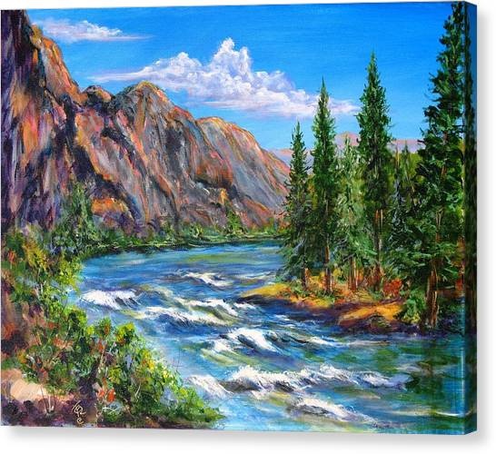 Snake River Canvas Print by Thomas Restifo