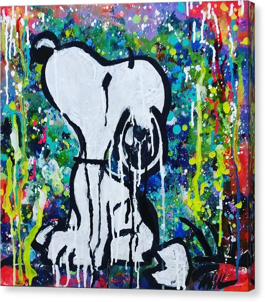 Fluids Canvas Print - Snoopy.cosmos by A MiL