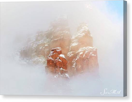 Snow 07-099 Canvas Print