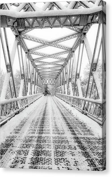 Snow Angles Canvas Print