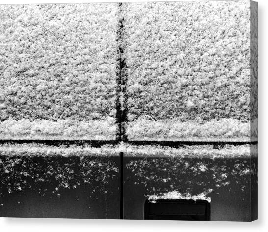 Snow Covered Rear Canvas Print