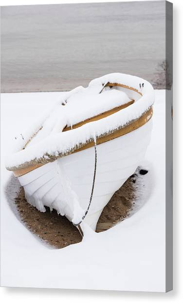 Snow Dory Canvas Print