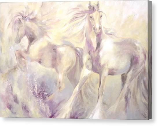 Snow Gypsies Canvas Print