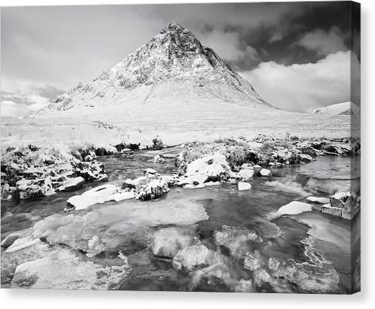 Snow In Glencoe Canvas Print