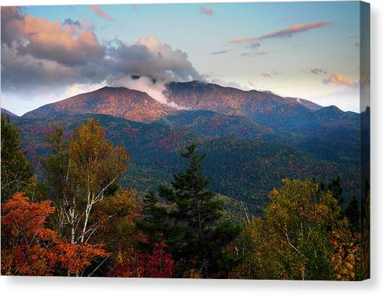 Giant Mt Sunset Canvas Print