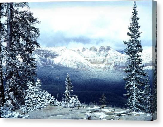 Snow On The High Uintas Canvas Print
