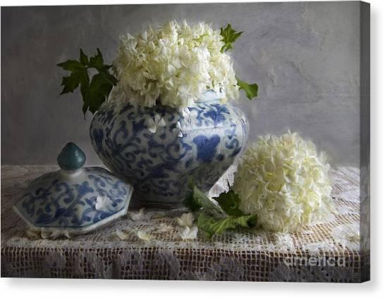 Snowball Canvas Print - Snowballs by Elena Nosyreva