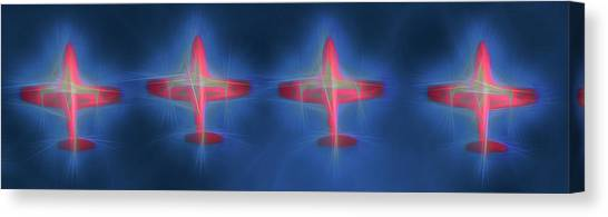 Snowbird Formation 2 Canvas Print