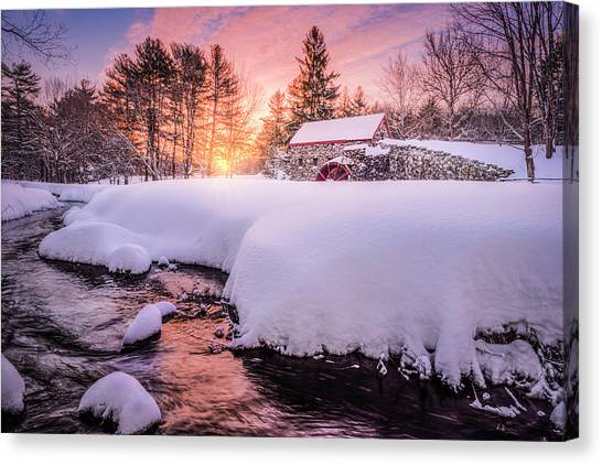 Snowbound Dawn Canvas Print