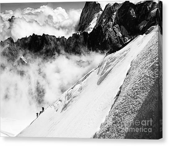 Snowdown Canvas Print