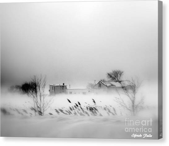 Snowed - In Canvas Print