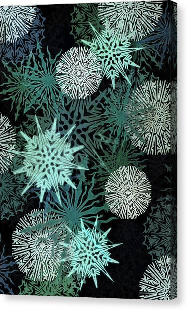 Susann Serfezi Canvas Print - Snowy Night by AugenWerk Susann Serfezi