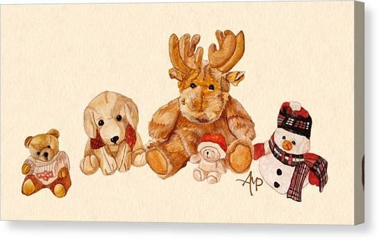 Snowy Patrol Canvas Print